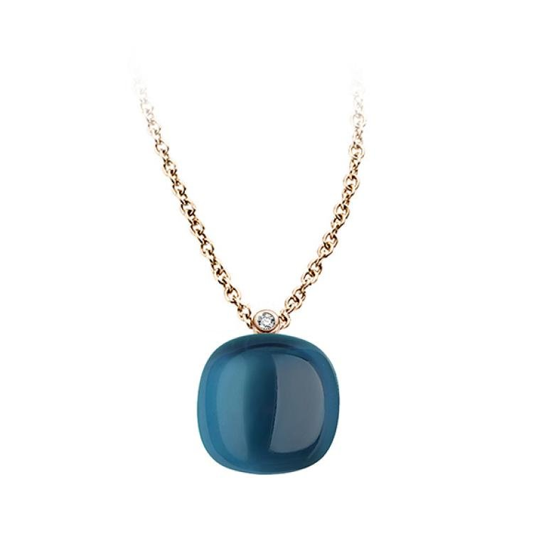 Mini sweety pendant London blue topaz