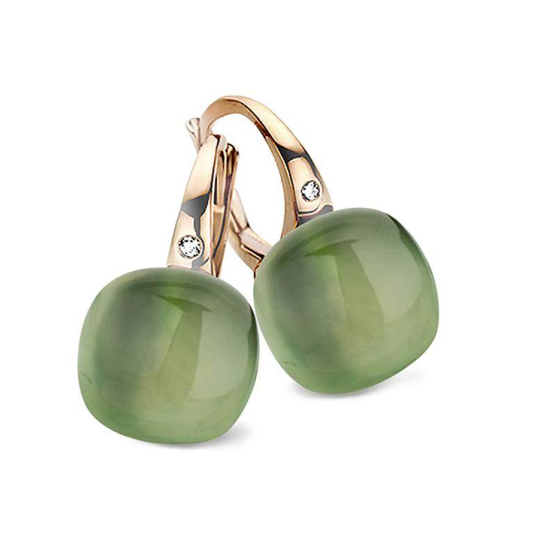 Mini sweety earrings prasiolite