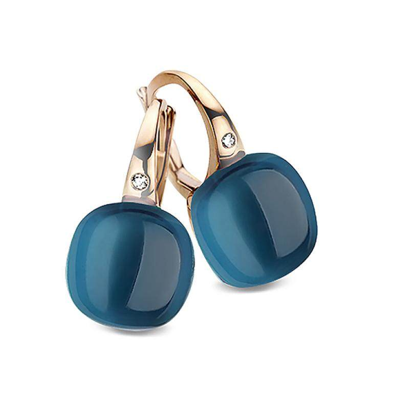 Mini sweety earrings lodon blue topaz