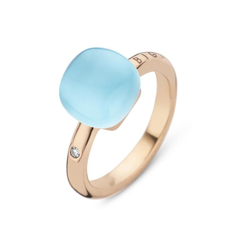Mini sweety ring blue topaz