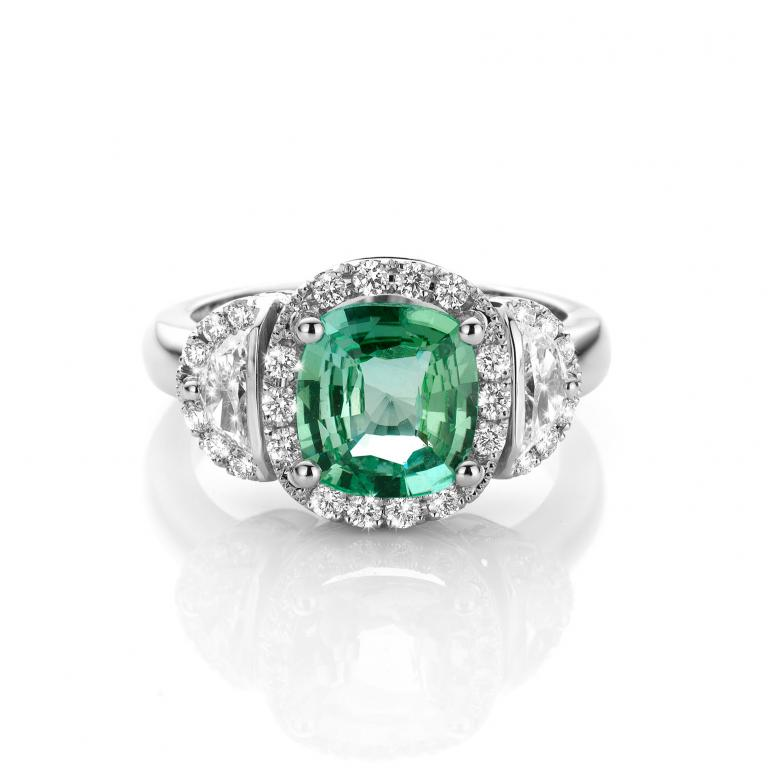 EMMANUELLE ring mint tourmaline