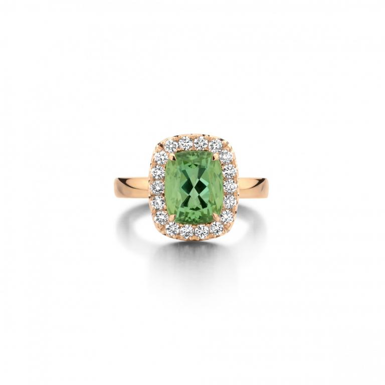 SOPHIE ring mint tourmaline