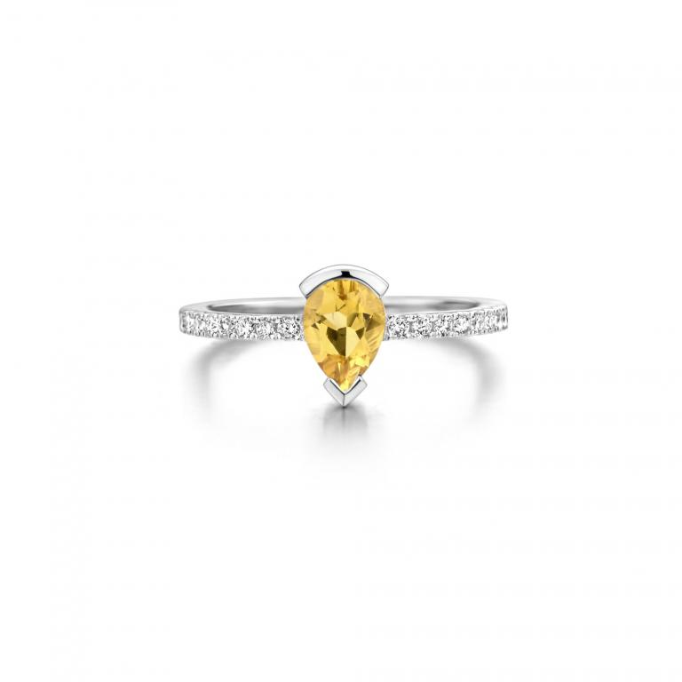 ADELINE ring yellow beryl