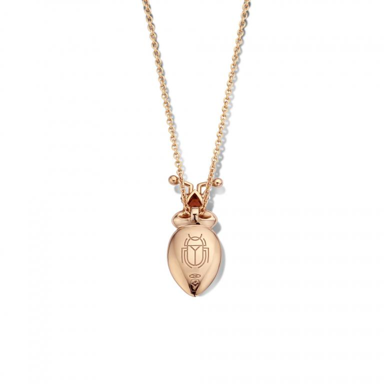 ELLIE beetle necklace