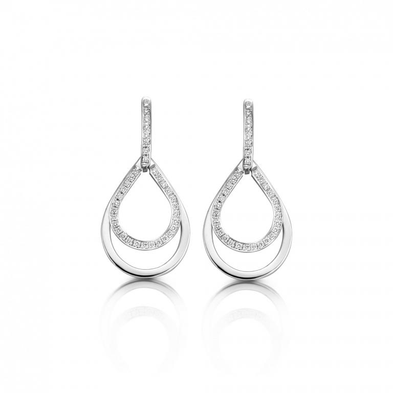 Josephine earrings diamonds