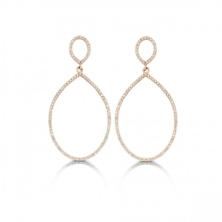 Félice earrings diamonds