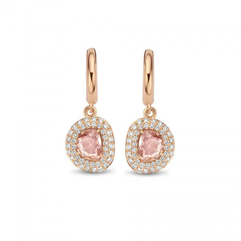 DIDI earrings pink sapphires