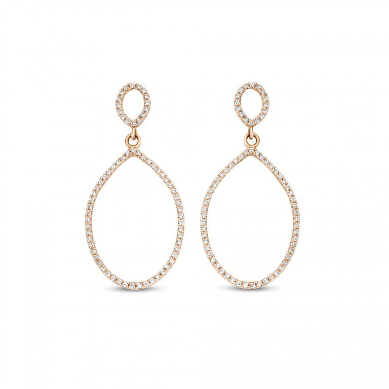 Félice earrings diamonds small