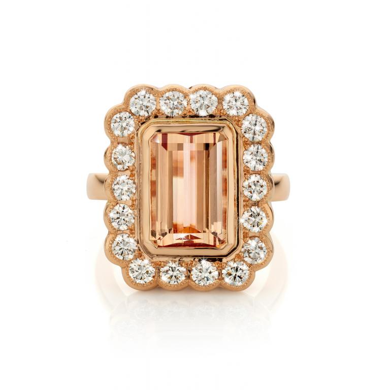MARY-LOU ring Imperial topaz