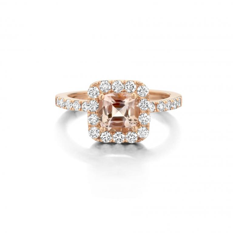 AMY ring pink sapphire