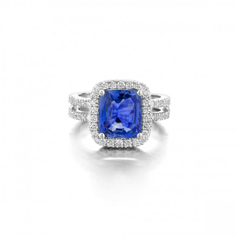 ALICE ring blue sapphire