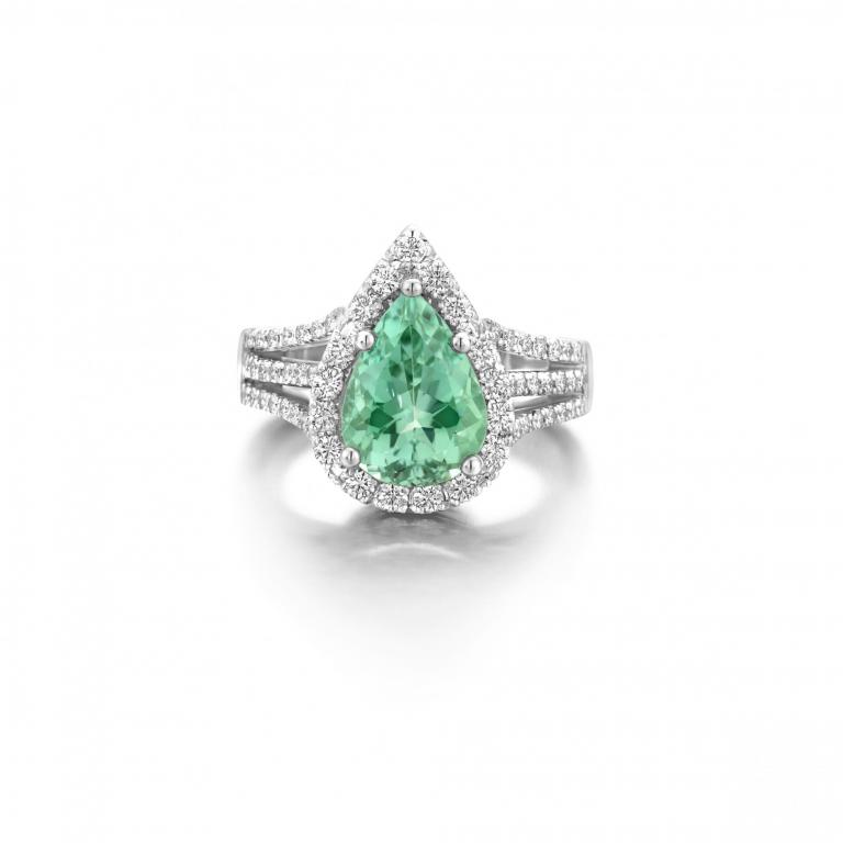 REANNE ring mint tourmaline