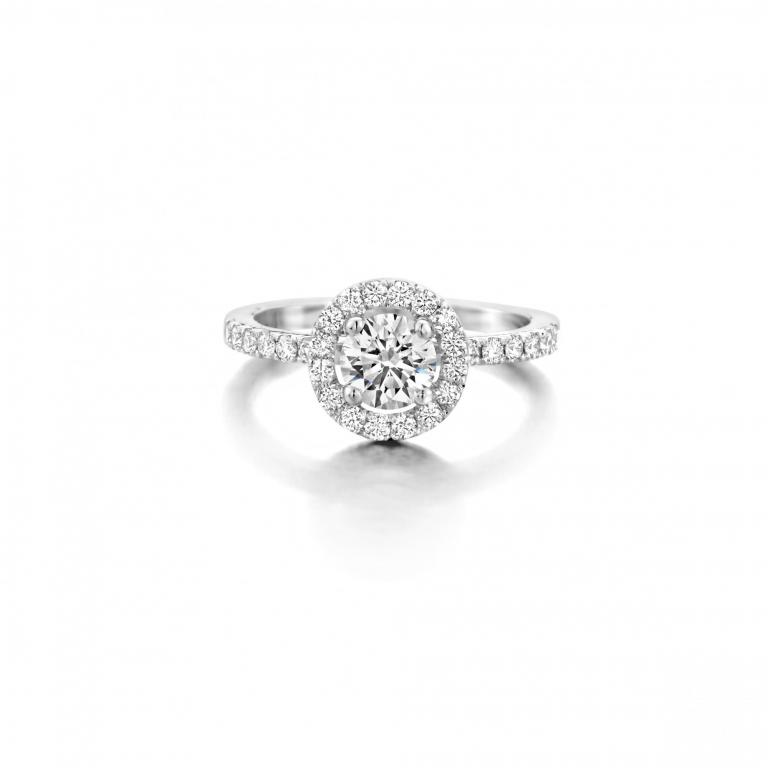 LOULOU engagement ring diamonds