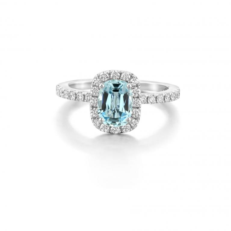 AMY ring aquamarine