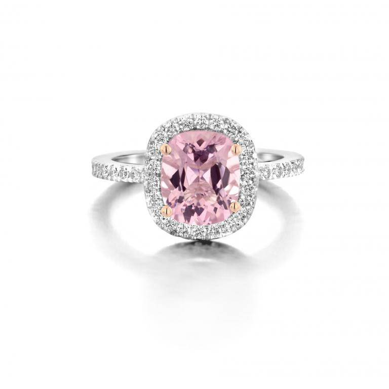 AMY ring pink morganite