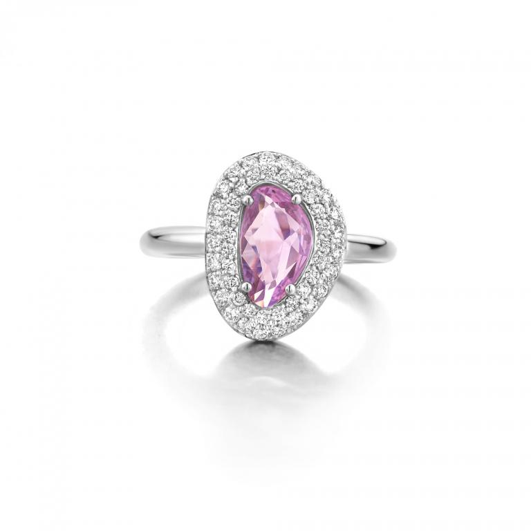 DIDI ring pink sapphire