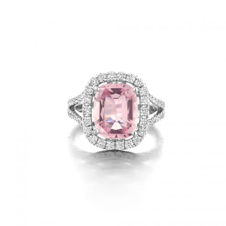 ELLA ring pink morganite