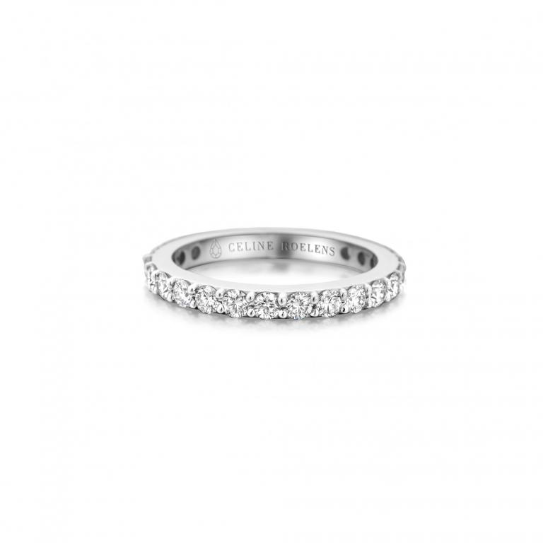 OLGA wedding ring diamonds
