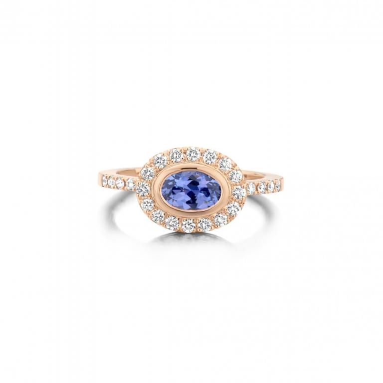 LIV ring tanzanite diamonds