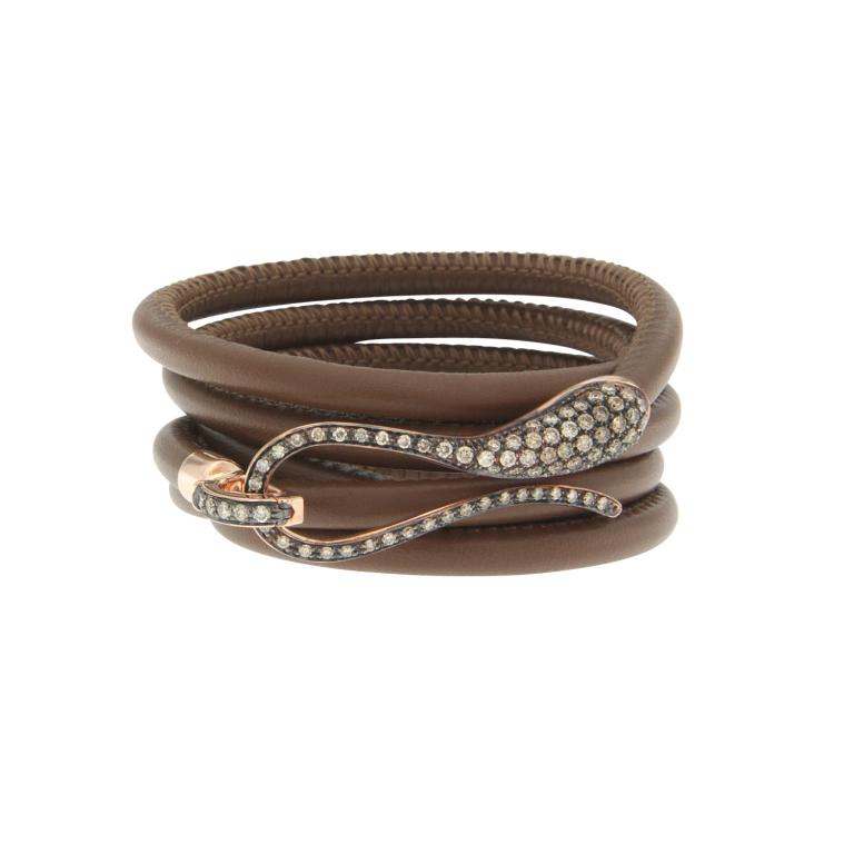 Elika cord brown diamonds