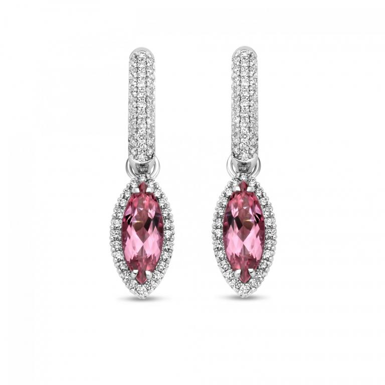 ALICE detachable pink tourmaline elements