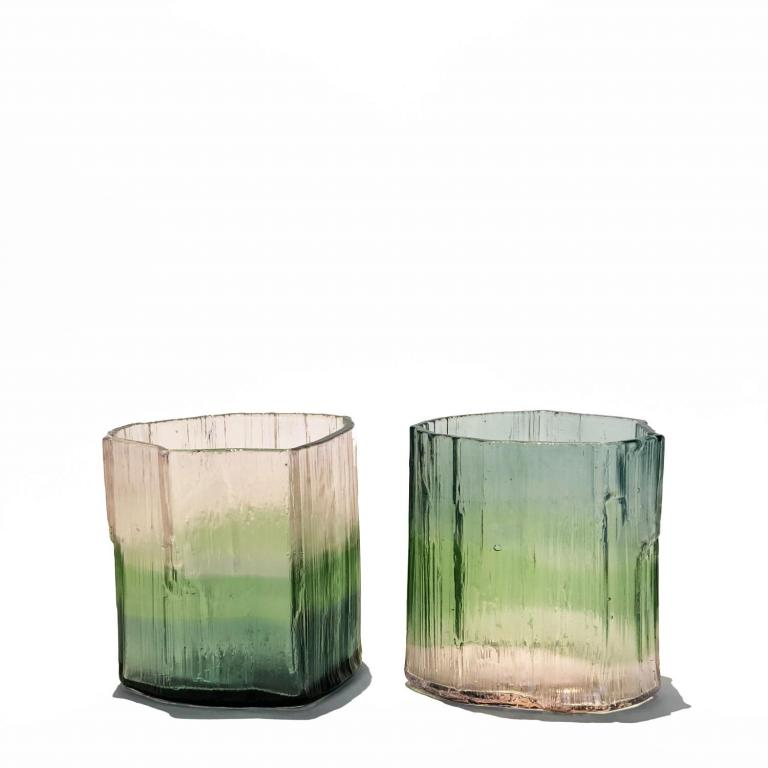 Tourmaline rock glasses
