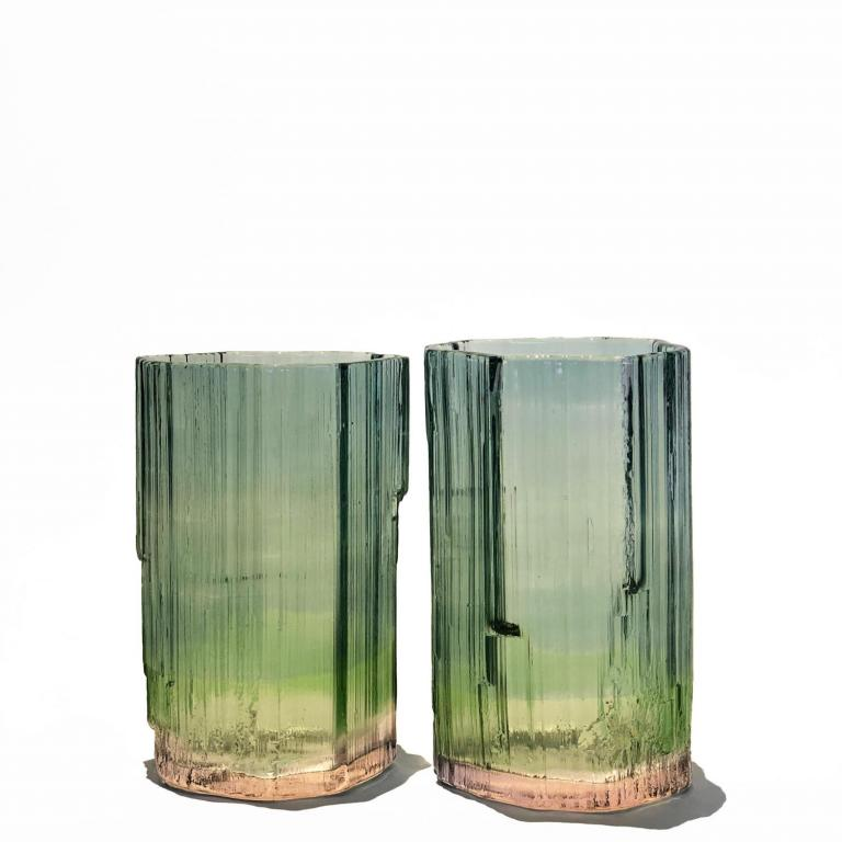Tourmaline tumbler glasses
